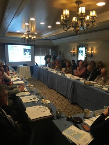 Presentation by the Tourism Coalition to the Lower Connecticut River Valley Council of Governments (COG) on September 28, 2016